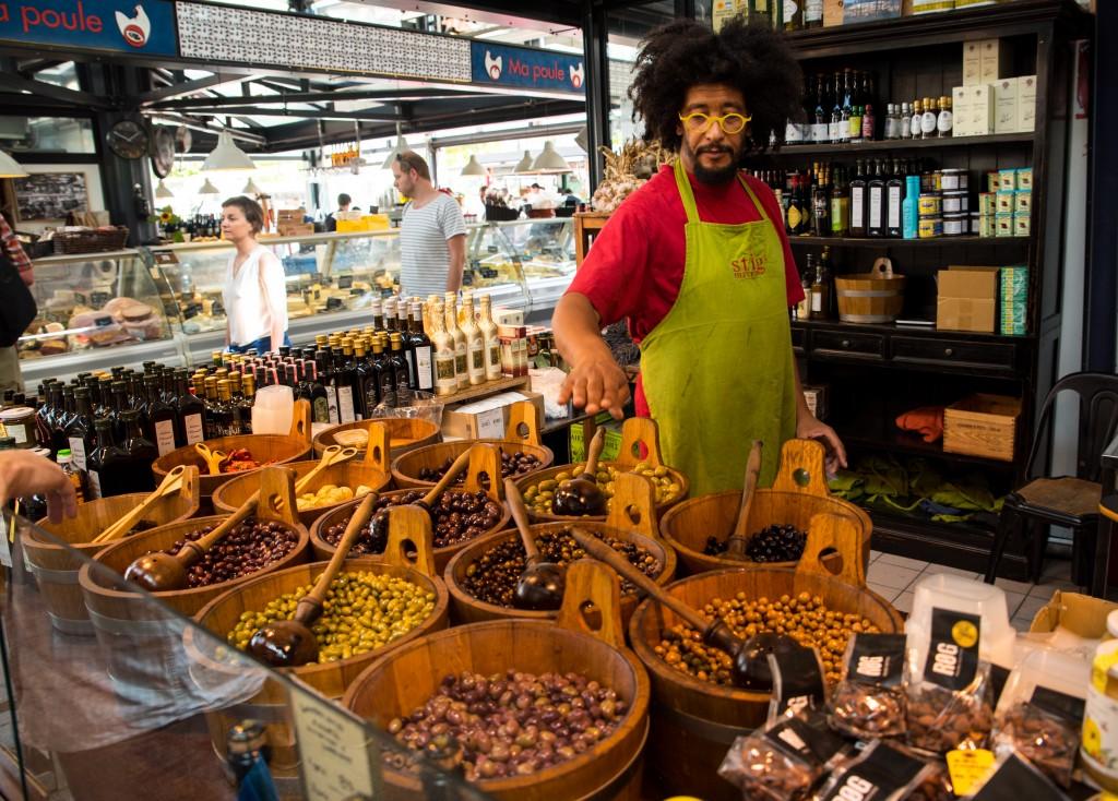 Stigs Oliven - den fine butik i Torvehallerne på Israels Plads