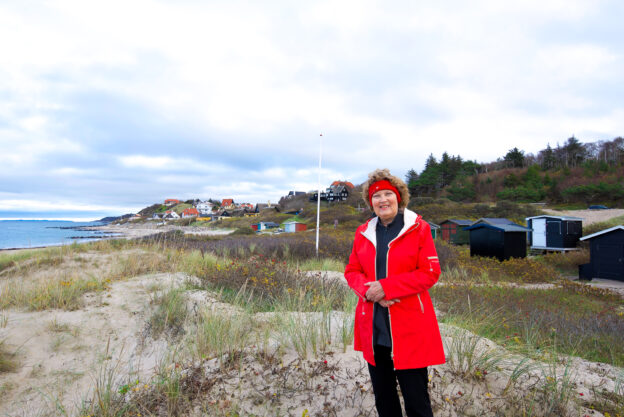 Mette viser sin hjemby Tisvildeleje